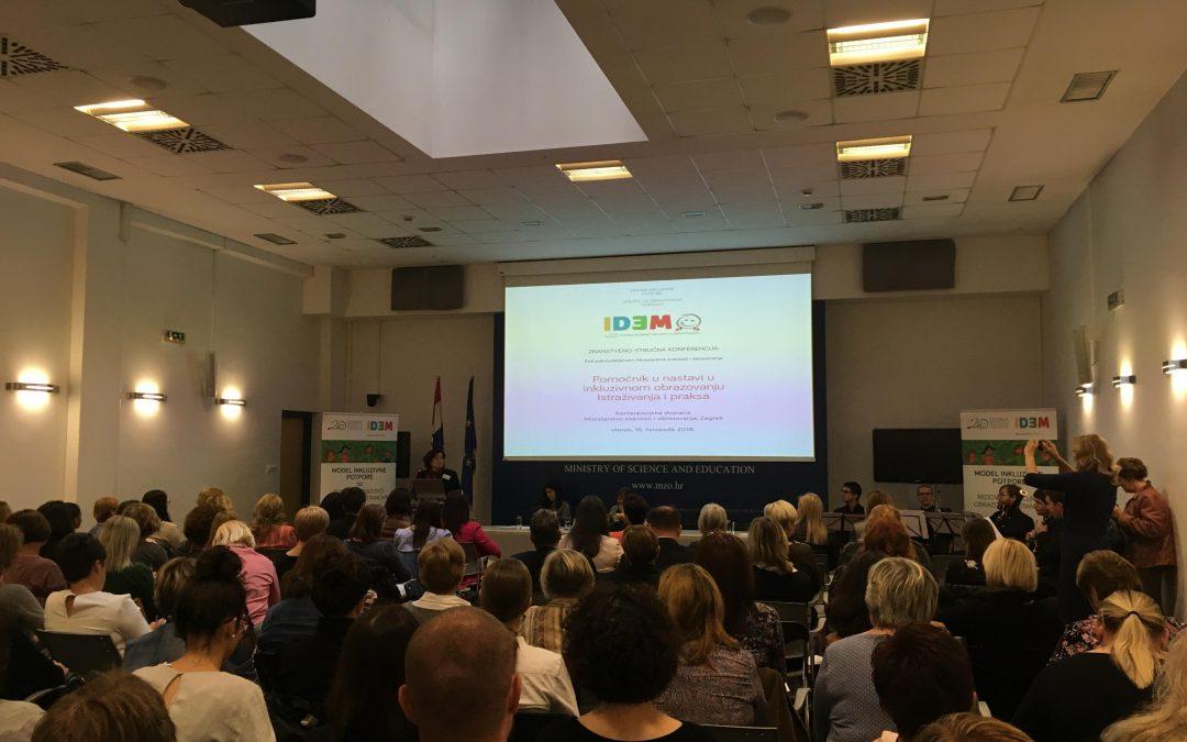 """Konferencija """"Pomoćnik u nastavi u inkluzivnom obrazovanju – Istraživanja i praksa"""""""